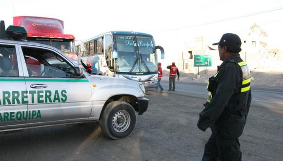 SIN SEGURIDAD. Policía anuncia que reforzará vigilancia en Yauca. (Heiner Aparicio)