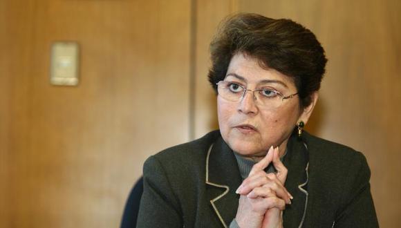 Gladys Echaíz fue elegida representante de la Fiscalía ante el JNE en 2014, pero luego renunció como fiscal suprema. (Foto: GEC)