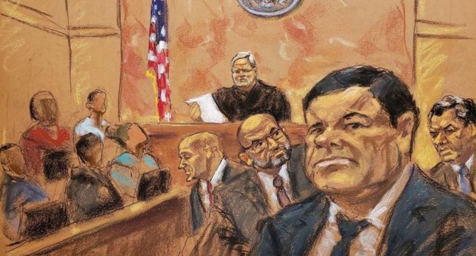 Las piezas claves del extraordinario juicio contra 'El Chapo' Guzmán en EE.UU.(Foto: EFE)