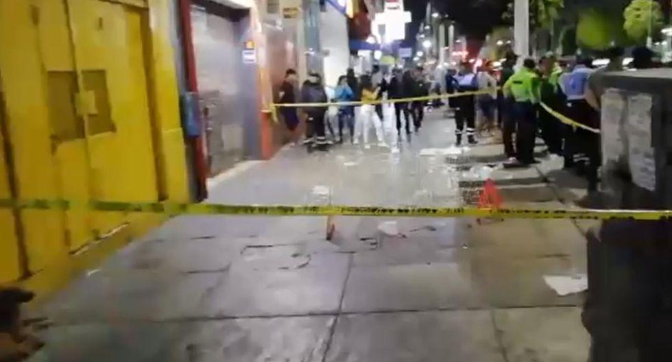 La balacera ocurrió en la cuadra 5 de la avenida Sáenz Peña. (Foto: Prensa Chalaca)