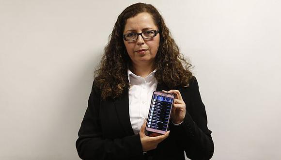 Candidata a presidencia regional de Áncash Rosa María Bartra denunció amenazas de muerte. (Nancy Dueñas)