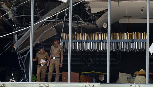 Las autoridades han decretado toque de queda en Sri Lanka. (Foto: AFP)