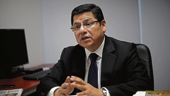 Eduardo Vega Luna. Ex presidente de la Comisión de Integridad. (Perú21)