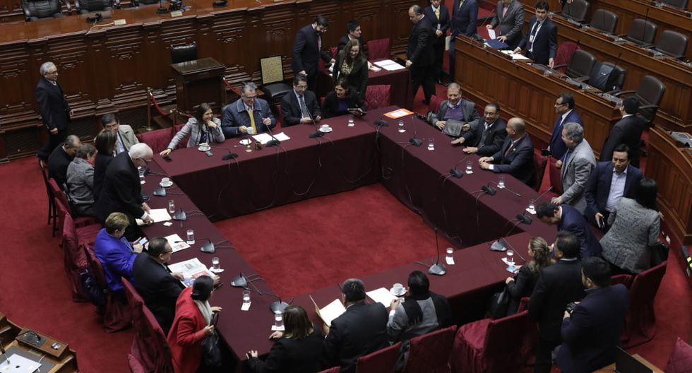 La Comisión Permanente es presidida por Pedro Olaechea. (Foto: GEC)