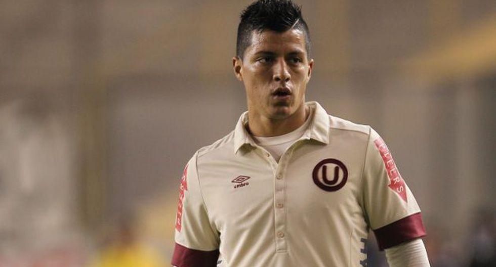Olascuaga fue reemplazado tras recibir una falta. (Leonardo Fernández)