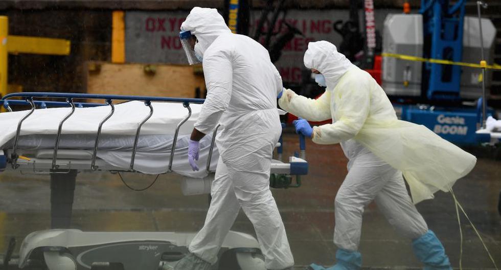 EE.UU. es el país del mundo con más infecciones, con 1,3 millones. En América le sigue Brasil, octavo a nivel global, con 169.000 casos. (Foto referencial/Angela Weiss / AFP)