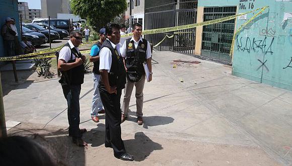 En el Callao hay altos índices de violencia criminal. (USI)