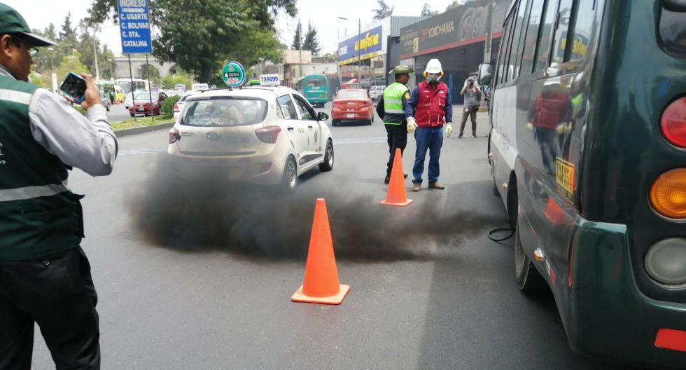 Se incrementan niveles de contaminación del aire en Arequipa (GEC)