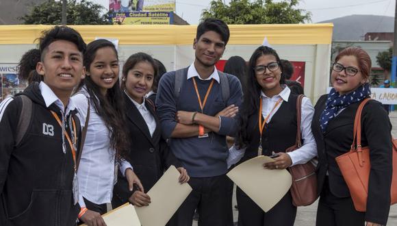 Fundación Forge ofrece becas a los jóvenes que pasan por situaciones difíciles en su economía. (Foto: GEC)