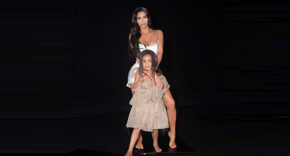 Kim Kardashian comparte tierno video dirigido por su hija North West. (Foto: @kimkardashian)