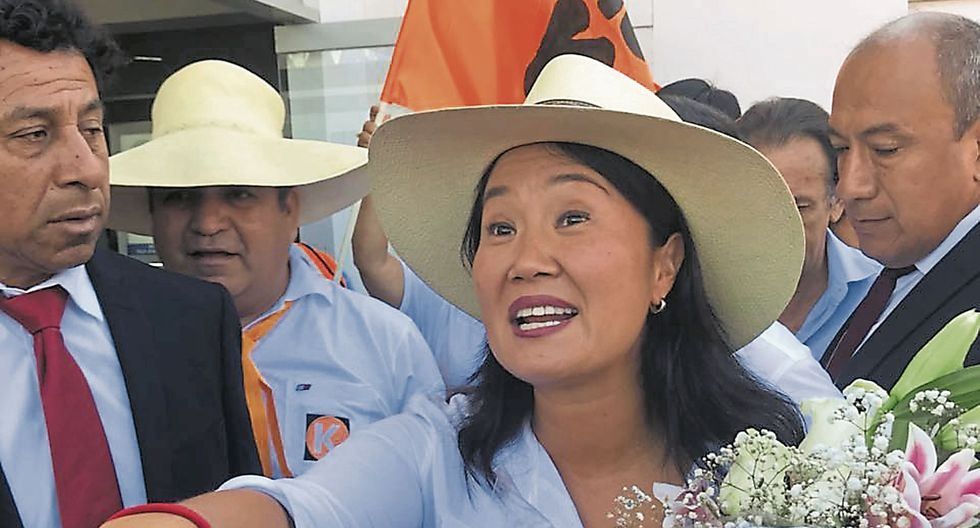 """Keiko Fujimori sobre su hermano: """"No quiero hacer leña del árbol caído"""". (USI)"""