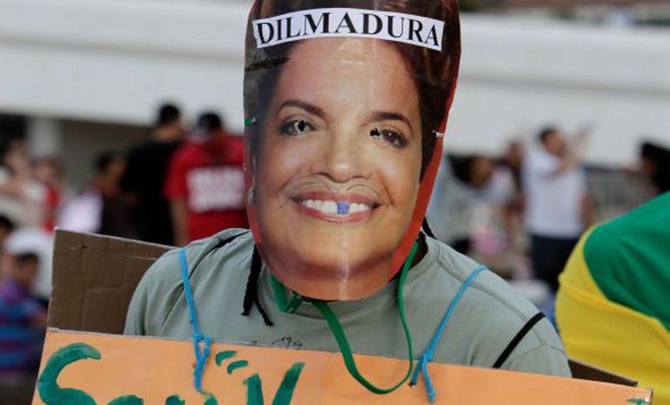 Descontento con Rousseff. (AP)