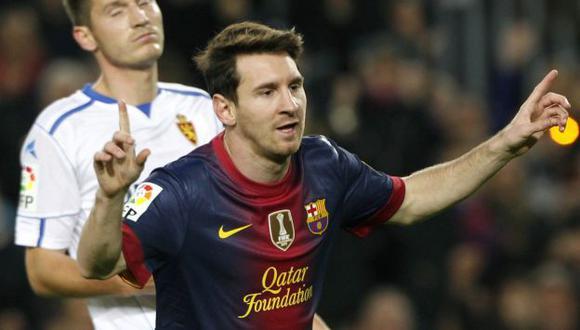 Messi anotó doblete. (Reuters)