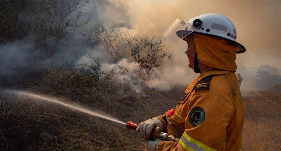 Según las autoridades, hasta la fecha solo se contabilizan daños materiales y ninguna persona ha perdido la vida. (AFP)
