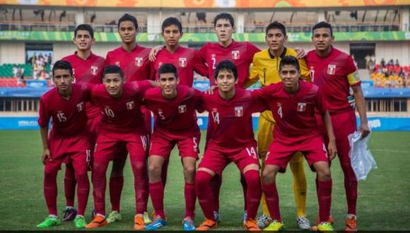 Juan José Oré, DT de la selección Sub 15, dedicó victoria a nuestro país. (Andina)