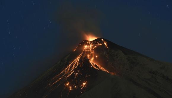 La potente erupción del Volcán de Fuego del pasado 3 de junio dejó al menos 256 desaparecidos y más de 1,7 millones de afectados. (Foto referencial: EFE)