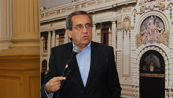 El congresista del Apra Jorge del Castillo dio su versión de los hechos ante la Comisión de Ética. (Foto: Congreso de la República)