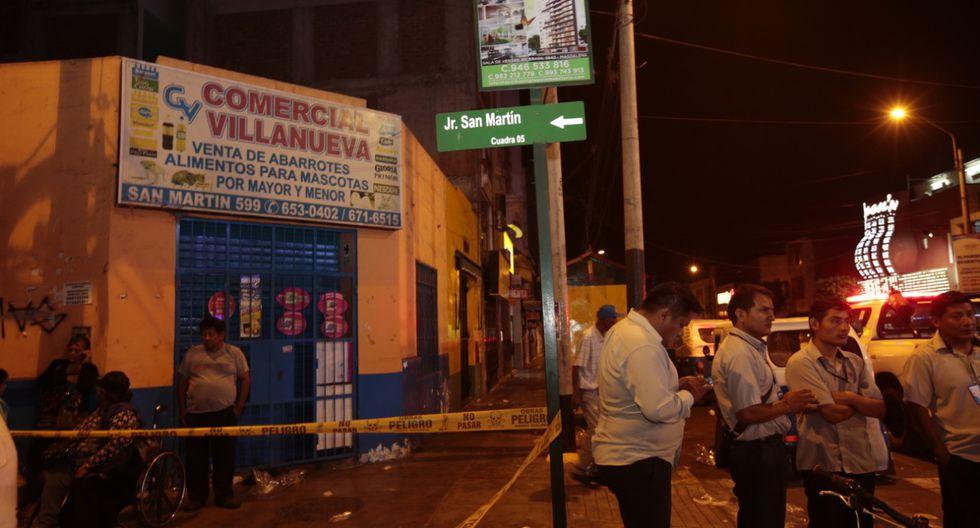 La Policía Nacional descarta que el móvil del atentado se deba un robo. (Foto: Kelvin García)