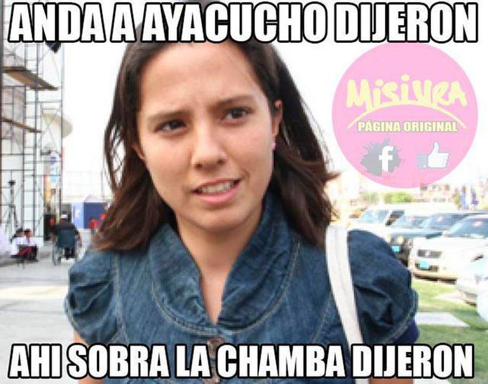 Tras graduarse recientemente como ingeniera forestal, Rosario Ponce consiguió trabajo hace unos días en Ayacucho. (Internet)