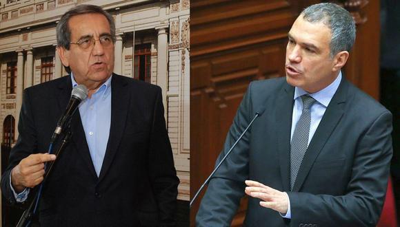 """Salvador del Solar acusa a del Castillo de usar el mismo """"modus operandi"""" que con la muerte de Alan García. (Composición/GEC)"""