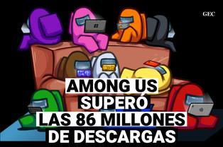 Among Us: Superó los 86 millones de descargas en móviles Android e Ios