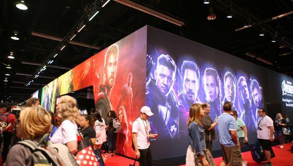 Los Avengers tendrán su espacio en Disneylandia. (Foto: AFP)