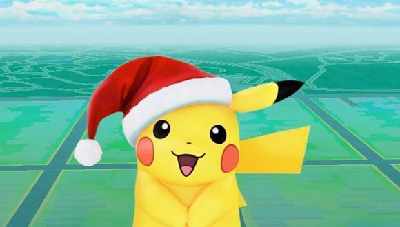 El evento de Navidad en Pokémon Go durará una semana.