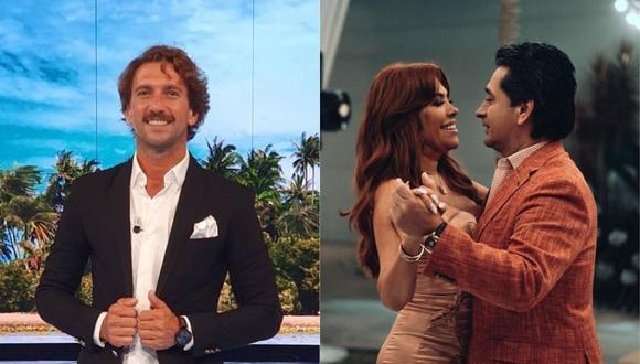 """Antonio Pavón se refirió a la separación de Magaly Medina y Alfredo Zambrano en """"Amor y Fuego"""". (Foto: @antoniopavongalan/@magalymedinav)"""