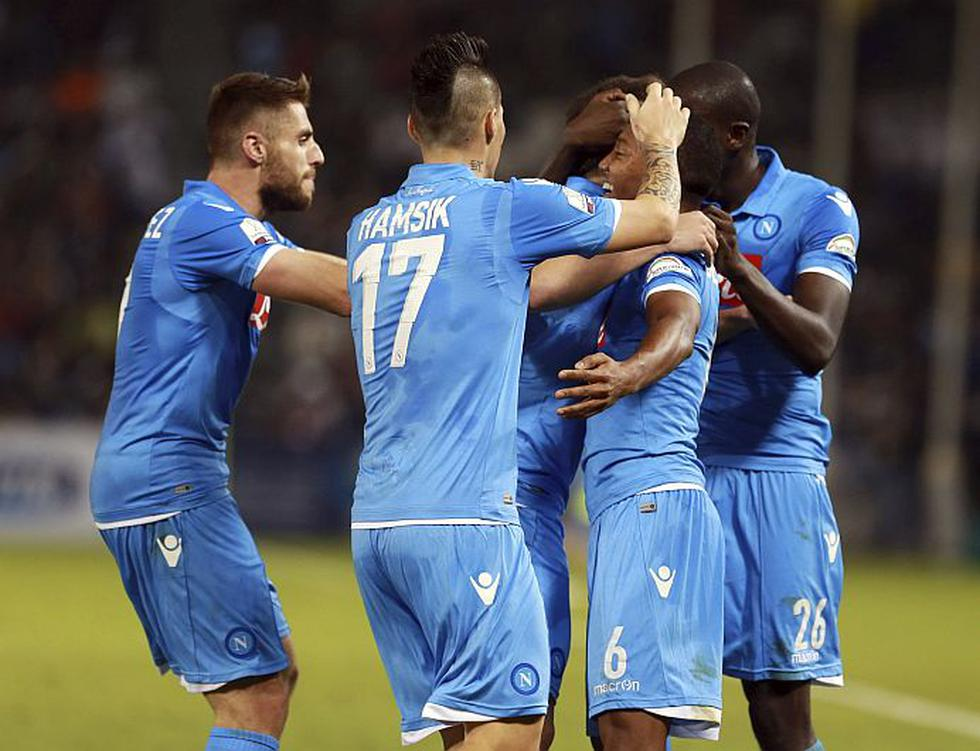Nápoli es el nuevo campeón de la Supercopa de Italia. (EFE)