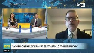 Participación de peruanos en el extranjero incrementó de 26% a 39% para segunda vuelta