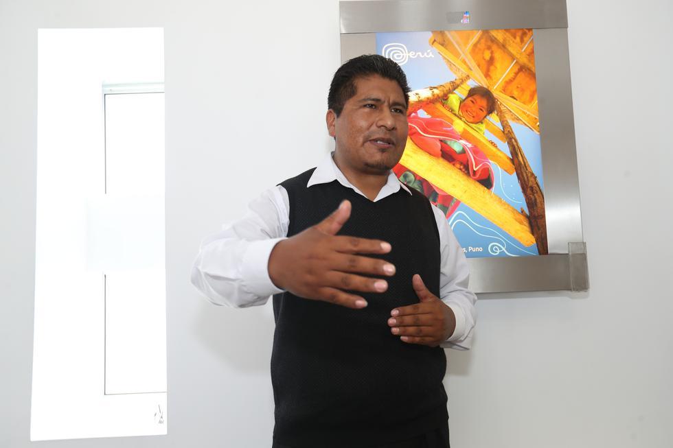 Walter Aduviri, gobernador regional de Puno. (Foto: Rolly Reyna)