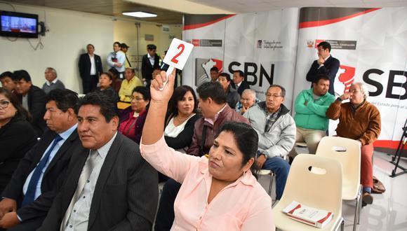 Ministerio de Vivienda subastará 34 inmuebles en Lima, Áncash y Moquegua.