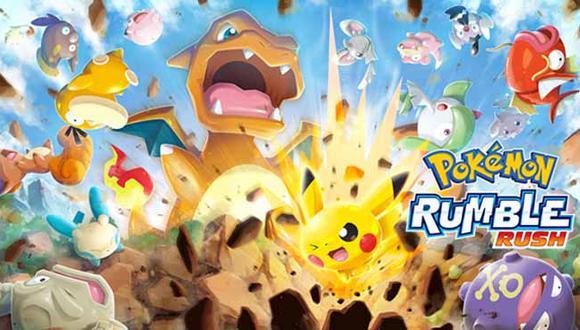 El nuevo videojuego para celulares y móviles, Pokémon Rumble Rush, ya se encuentra disponible en Australia.