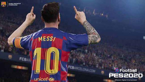'eFootball PES 2020' estará disponible en PlayStation 4, Xbox One, y STEAM PARA PC el 10 de setiembre.