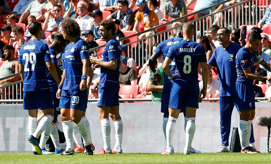 Chelsea recibe en Londres a Olympique Lyon por la International Champions Cup. (Foto: Reuters)