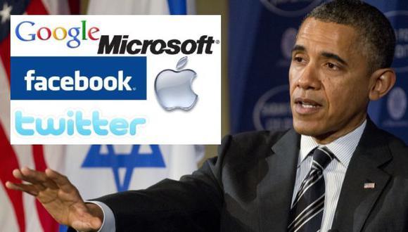 Barack Obama recibe pedido de ocho gigantes de internet. (AP/Internet)