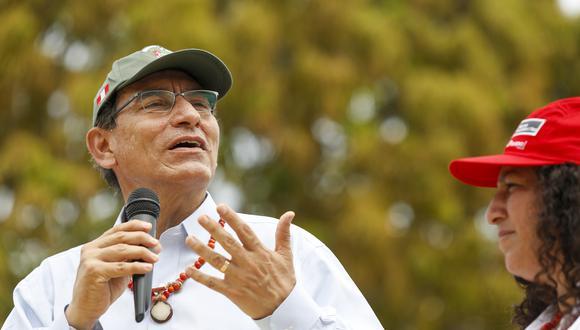 El presidente Martín Vizcarra anunció este miércoles una cuestión de confianza por la reforma política. (Foto: Presidencia)