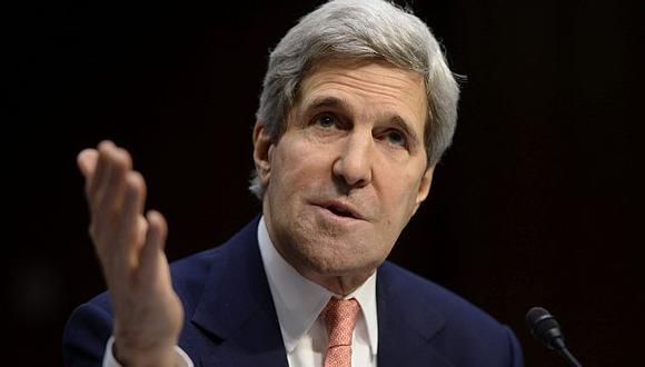 John Kerry declaró ante el Congreso de su país. (EFE)