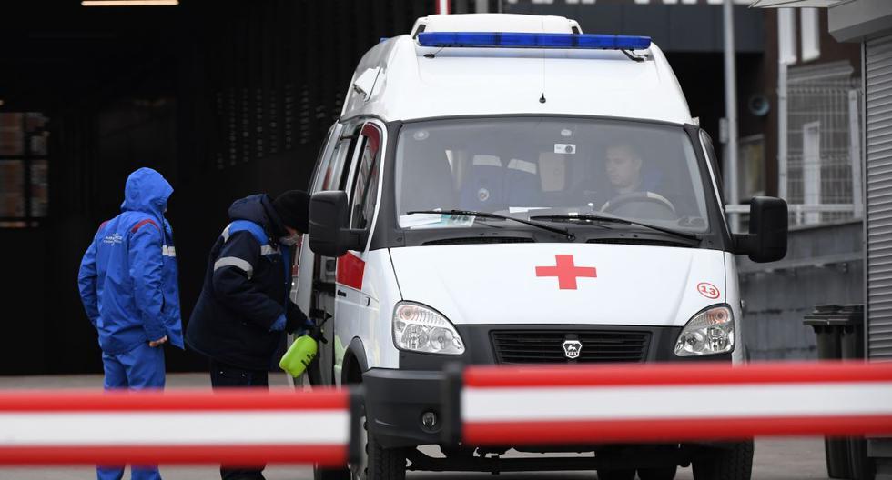 Moscú, el principal foco infeccioso del país, marcó también un nuevo máximo diario de contagios con 7.993 positivos y registró 74 fallecimientos. (Foto: NATALIA KOLESNIKOVA / AFP).