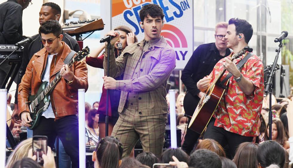 Así será la primera gira mundial de los Jonas Brothers tras su regreso a los escenarios. (Foto: AFP)