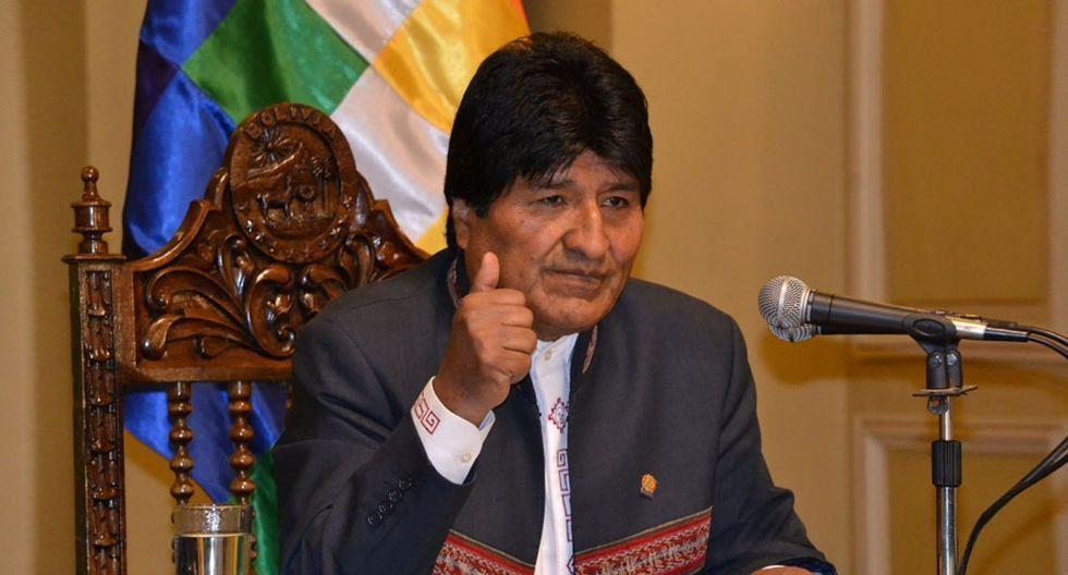 Evo Morales considera que Rafael Correa es una persona inocente. (Foto: EFE)