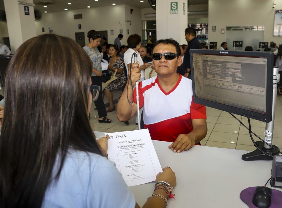 Este servicio permitirá a las personas con discapacidad visual acceder a una información de manera adecuada. (Foto: Municipalidad de Lima)