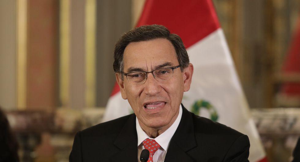 Martín Vizcarra indicó que se encuentra a favor de los proyectos de inversión privada pero que tengan el respaldo de la población. (Foto: Anthony Niño de Guzmán / GEC)