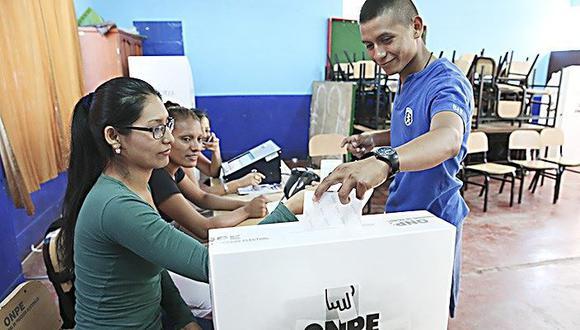 Votarán jóvenes que cumplan mayoría de edad hasta el 26 de enero. (Foto: El Peruano).