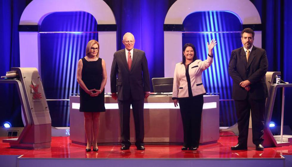 PPK y Keiko Fujimori rompieron fuegos en el primer debate presidencial descentralizado. (JNE)
