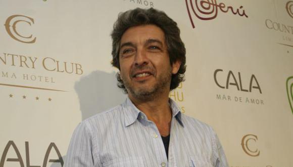 Ricardo Darín vendrá al Perú para protagonizar 'Escenas de la vida conyugal'. (Trome)