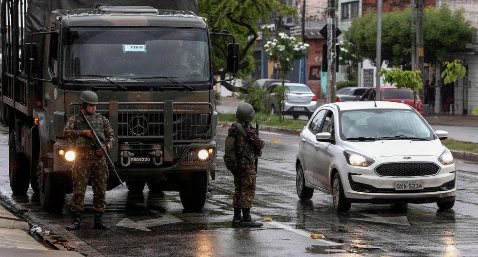 El gobierno del presidente Jair Bolsonaro envió el viernes unos 2.500 militares para reforzar la seguridad. (AFP).
