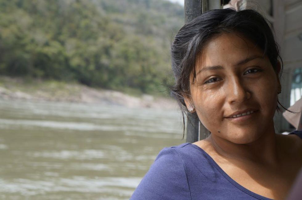 Carol es hija de dos agricultores de café del distrito de Río Tambo, en el norte del Vraem (Liz Saldaña/Perú21)