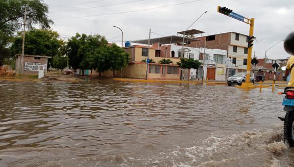 Piura: intensas lluvias generaron inundaciones en distintos puntos de la región (Foto: Tania Bautista)