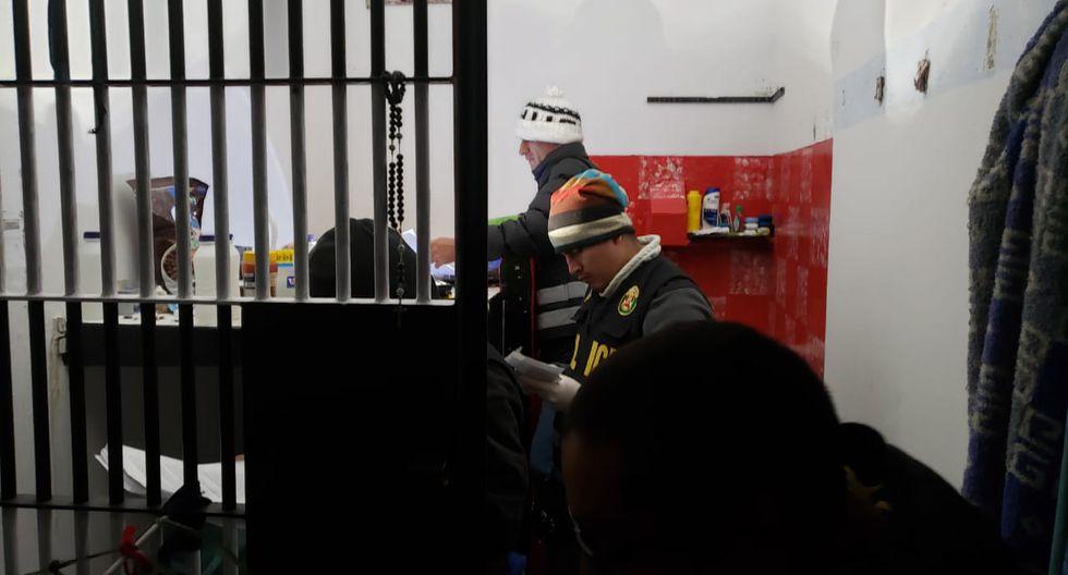 Operación realizó intervenciones en centros penitenciarios de La Libertad, Pasco y Tacna. (Fotos: Difusión)